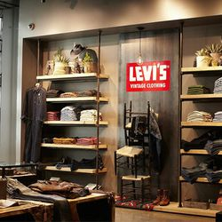 """Levi's recently <a href=""""http://sf.racked.com/archives/2014/03/03/levis-celebrates-185-years.php"""">celebrated</a> its founder's 185th birthday, reminding us of the brand's storied, local history. Another milestone for the brand was the move to 815 Market S"""