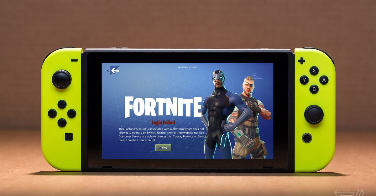 Fortnite fans are furious at Sony for ruining their handheld