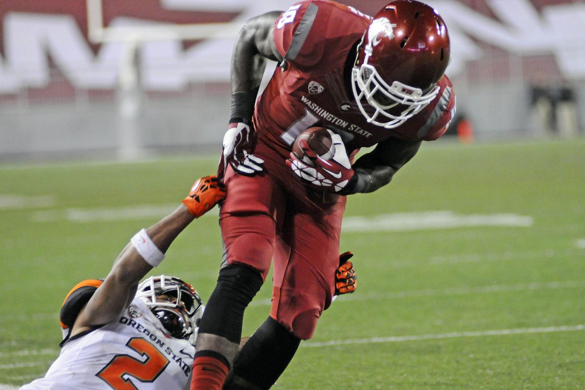 Washington State wide receiver and kick returner Kristoff Williams will be looking to make some noise on special teams Saturday in Rice-Eccles Stadium.