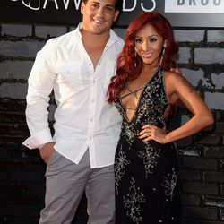 Skinny Snooki with her husband, Jionni LaValle