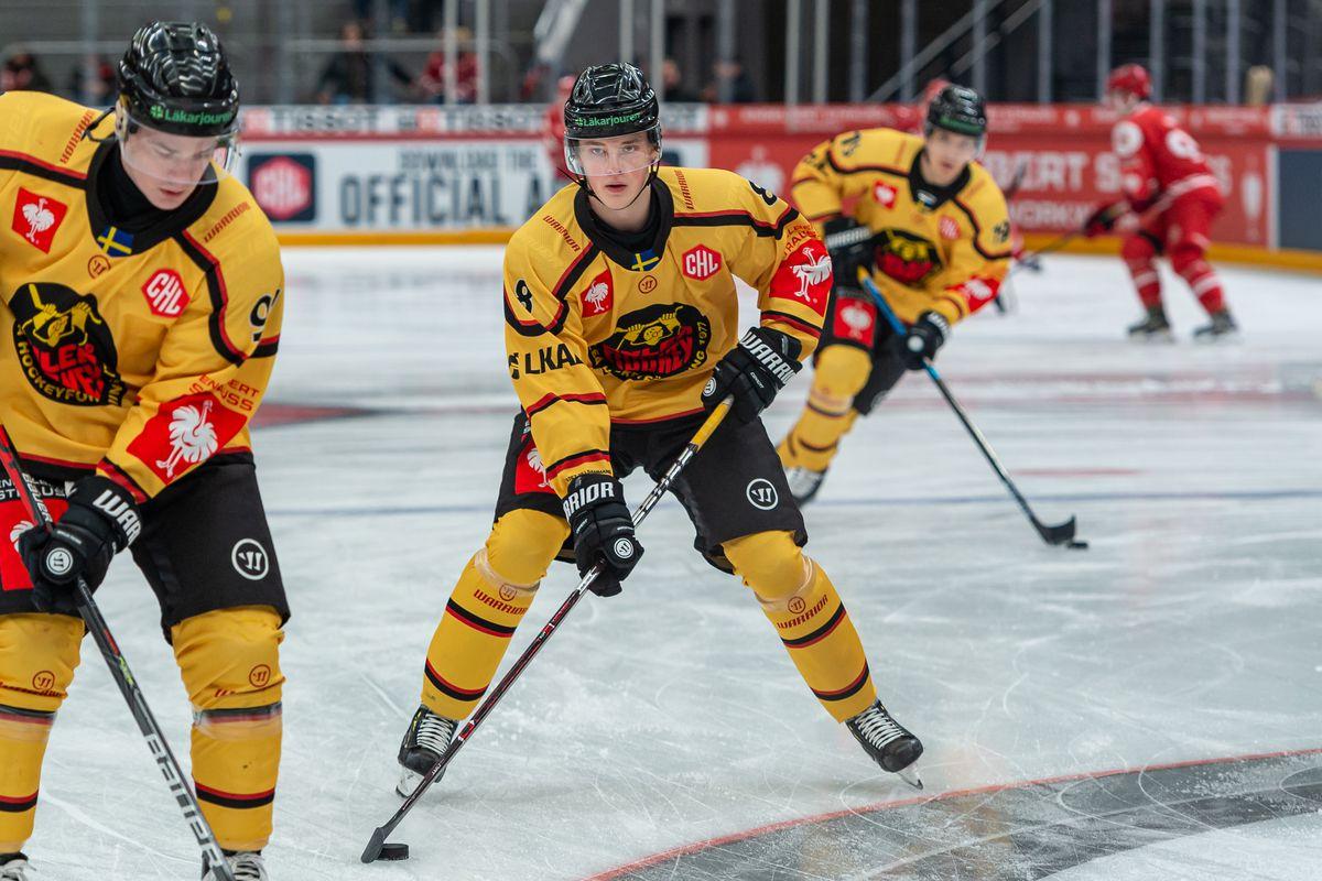 Lausanne HC v Lulea HF - Champions Hockey League