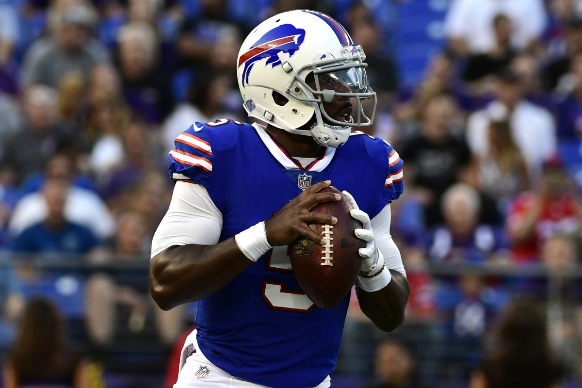 buffalo bills starting quarterback tyrod taylor cleared. Black Bedroom Furniture Sets. Home Design Ideas