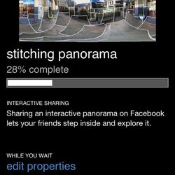 This undated screenshot provided by Microsoft shows Photosynth, a smartphone application which lets you take 360-degree panoramic photos that become interactive on a smartphone or computer screen.  While it's wildly popular and the target of Facebook's $1 billion takeover deal, Instagram isn't the only camera app.