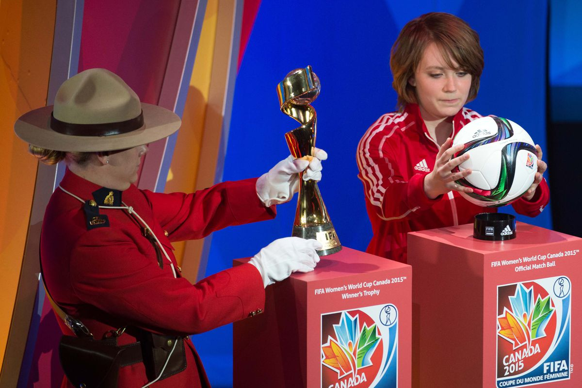 A Mounty with their hands on the trophy? Does that count as an omen? Will find out soon enough, as the Group Stage comes to an end and the Knockout Rounds lay ahead