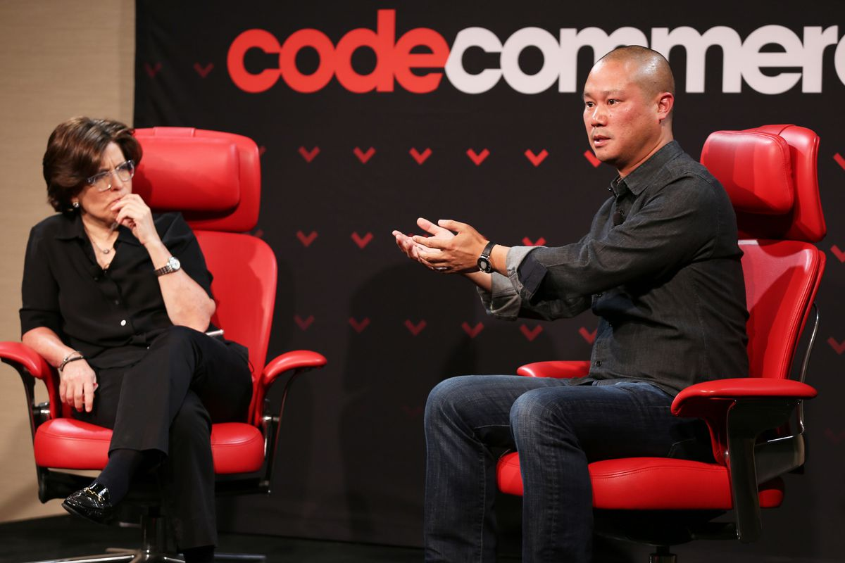 Tony Hsieh explains why he sold Zappos, how he reinvented its corporate culture and what he thinks of Amazon