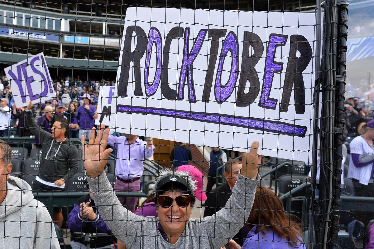 MLB: Washington Nationals at Colorado Rockies