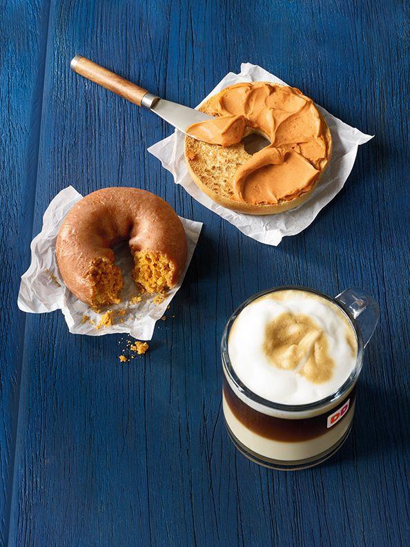 Dunkin' Donuts Pumpkin Donuts