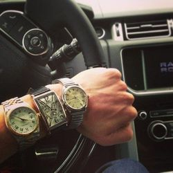But Pax couldn't get one the list. He buys all the other watches to compensate.