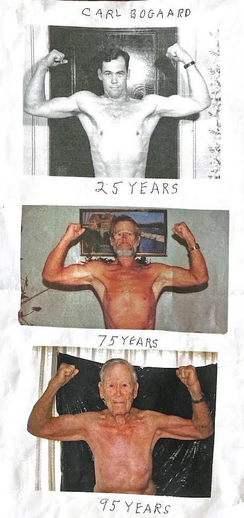 Carl Bogaard was a fitness buff his whole life.