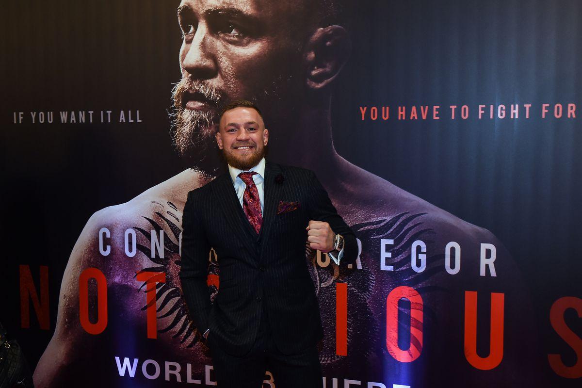 Conor McGregor: Notorious Film Premiere