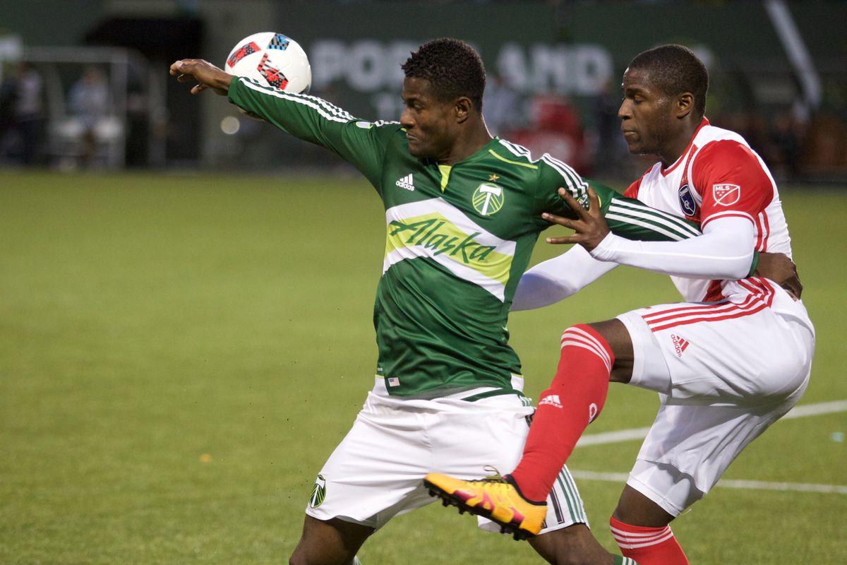 MLS: U.S. Open Cup-San Jose Earthquakes at Portland Timbers