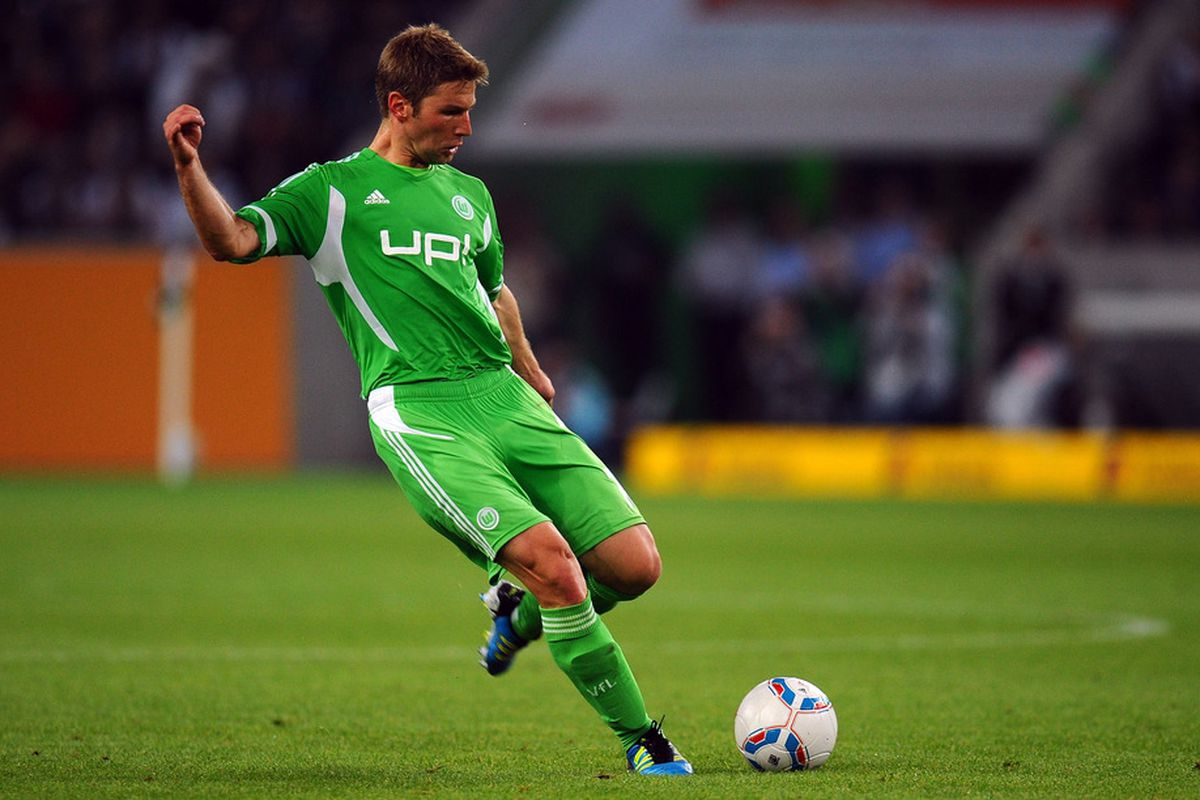 Thomas Hitzlsperger, who last played with VfL Wolfsburg of the Bundesliga, is currently training with MLS side San Jose Earthquakes
