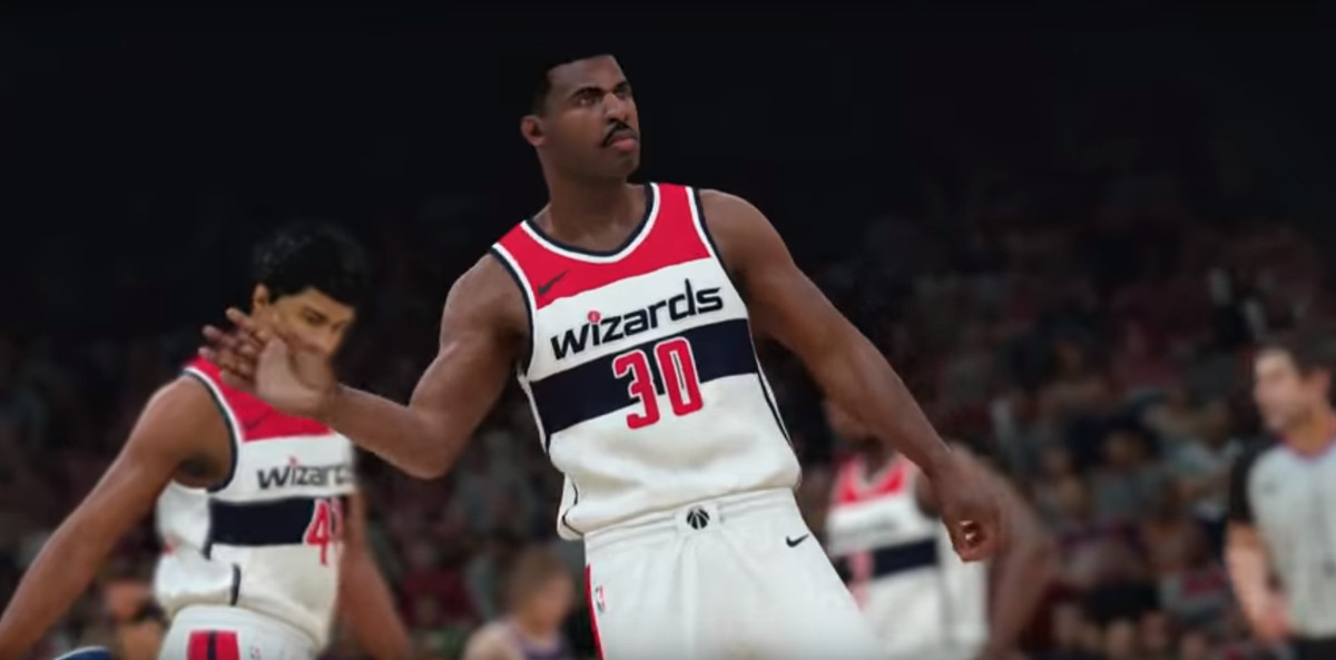 NBA 2K18 releases roster for Wizards All-Time Team, sneak