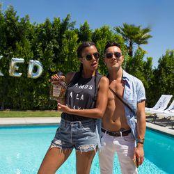 Style Me Grasie blogger Grasie Mercedes with Gran Cosecha Tequila founder Eli Z. Cardon.