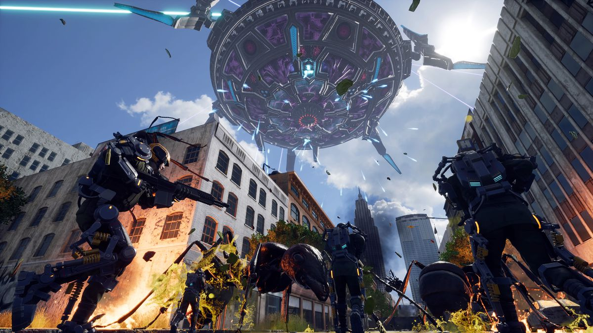 How Earth Defense Force went from bargain bin to blockbuster - Polygon