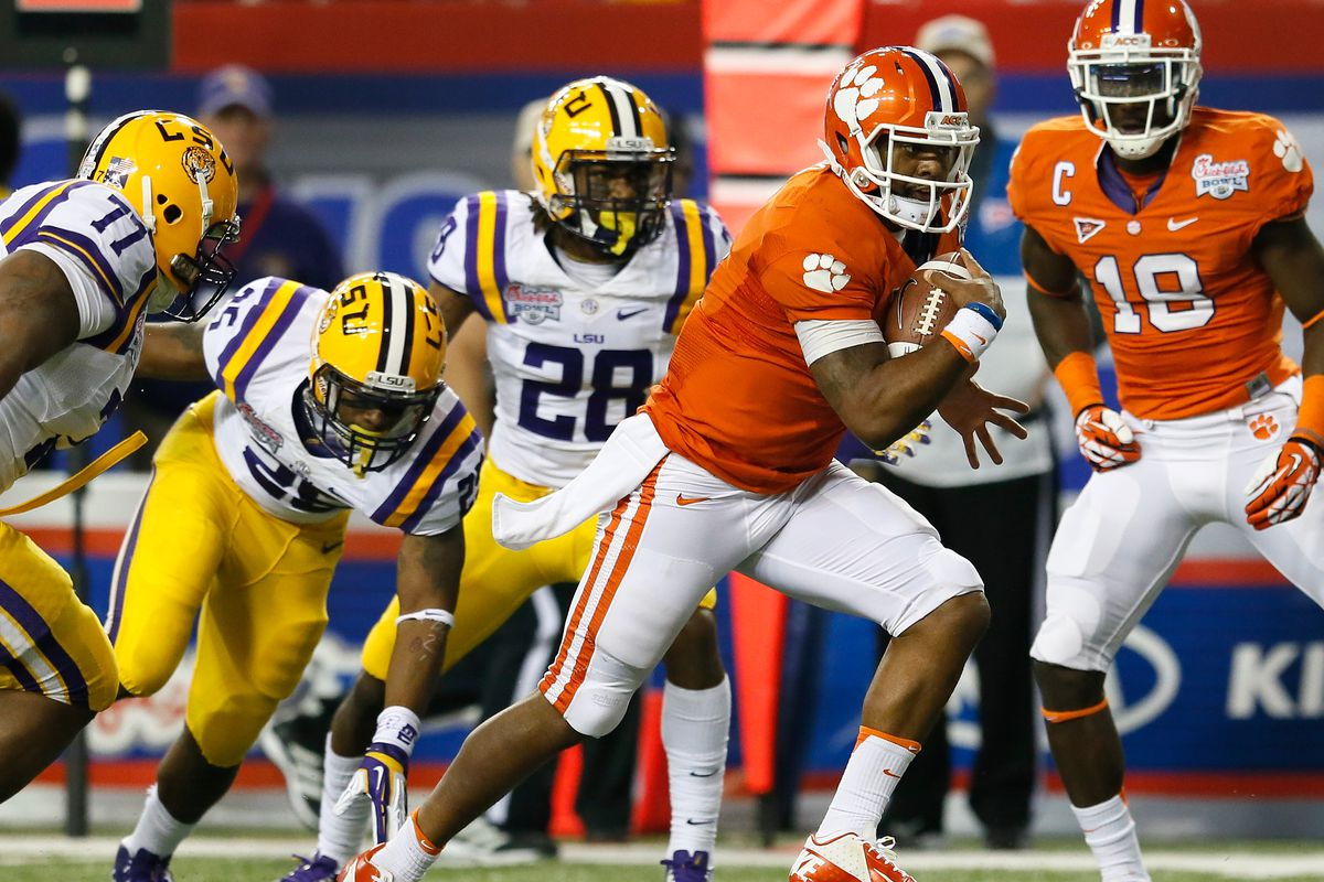 Who Won Lsu Or Clemson >> Clemson And Lsu Announce First Ever Death Valley Tigers