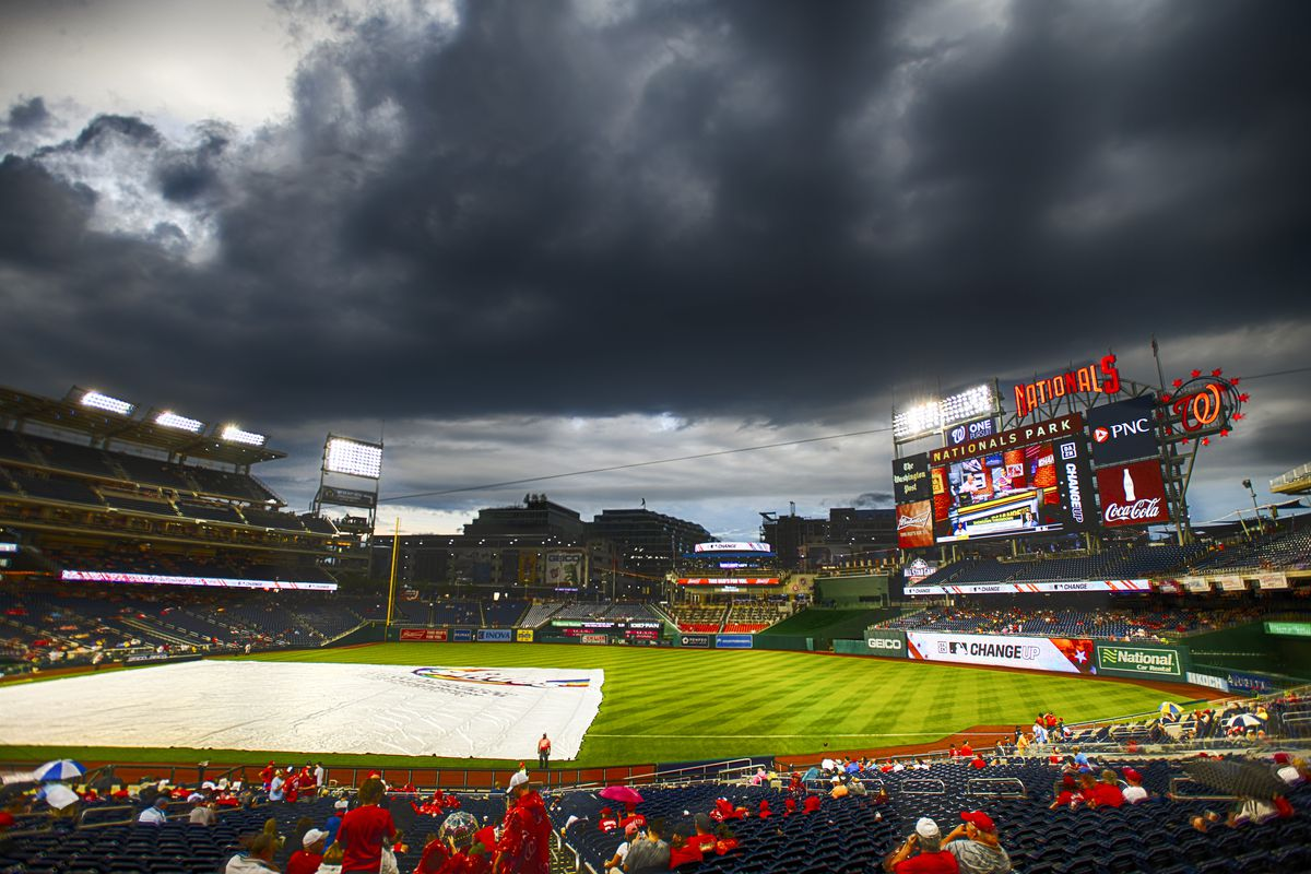 Washington Nationals' series opener with Colorado Rockies postponed, doubleheader on Wednesday...