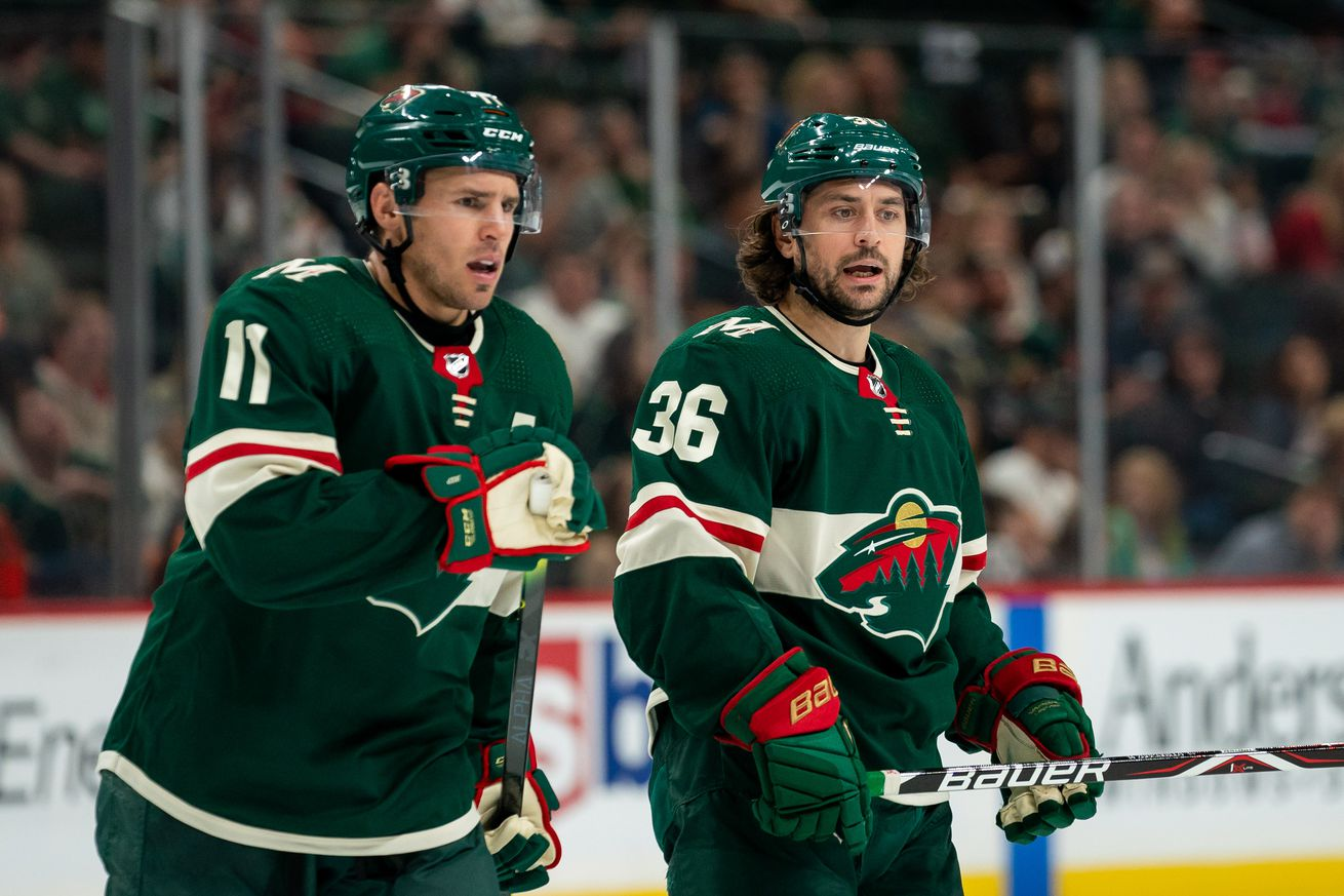 The Wild need to score more goals, and it starts with the first line