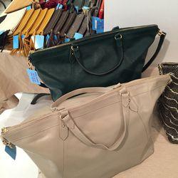 Nina shoulder bag with strap, $275, originally $475