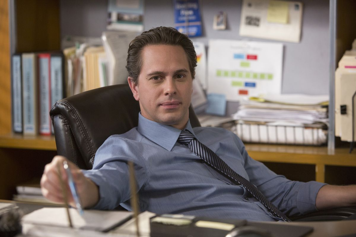 Don Keefer (Thomas Sadoski) visits a woman accusing a man of rape in the latest episode of The Newsroom.