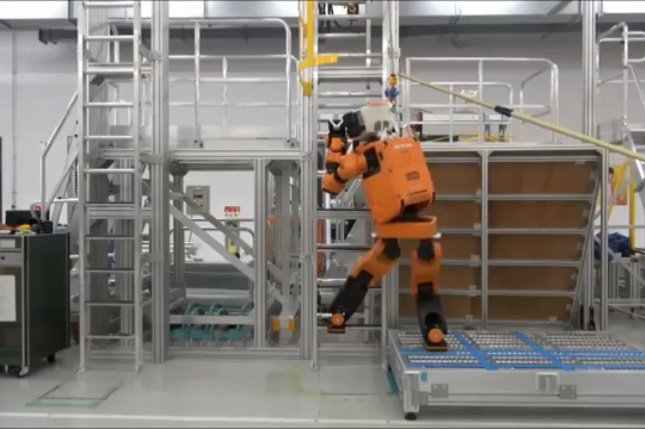 Honda's bipedal robot is designed for disaster relief
