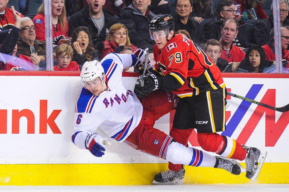 New York Rangers v Calgary Flames