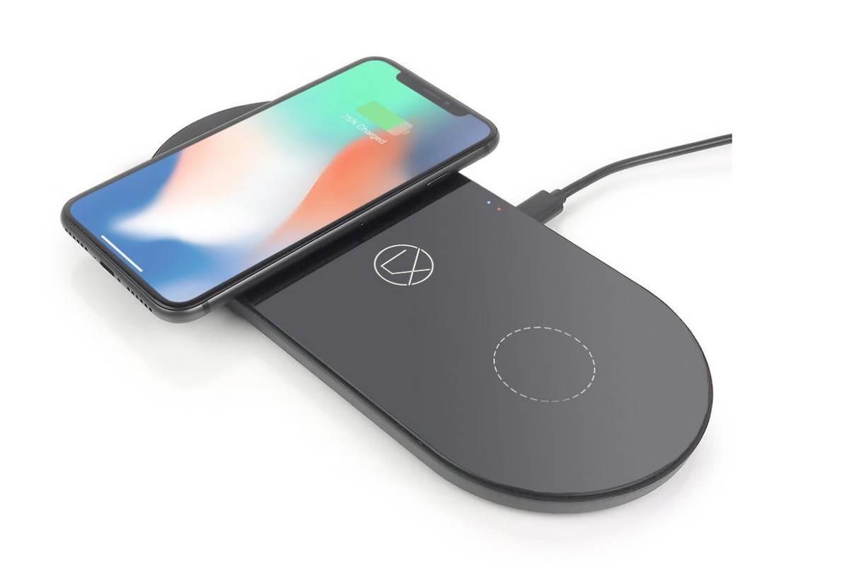 the first lightning based wireless qi charger is here the verge. Black Bedroom Furniture Sets. Home Design Ideas