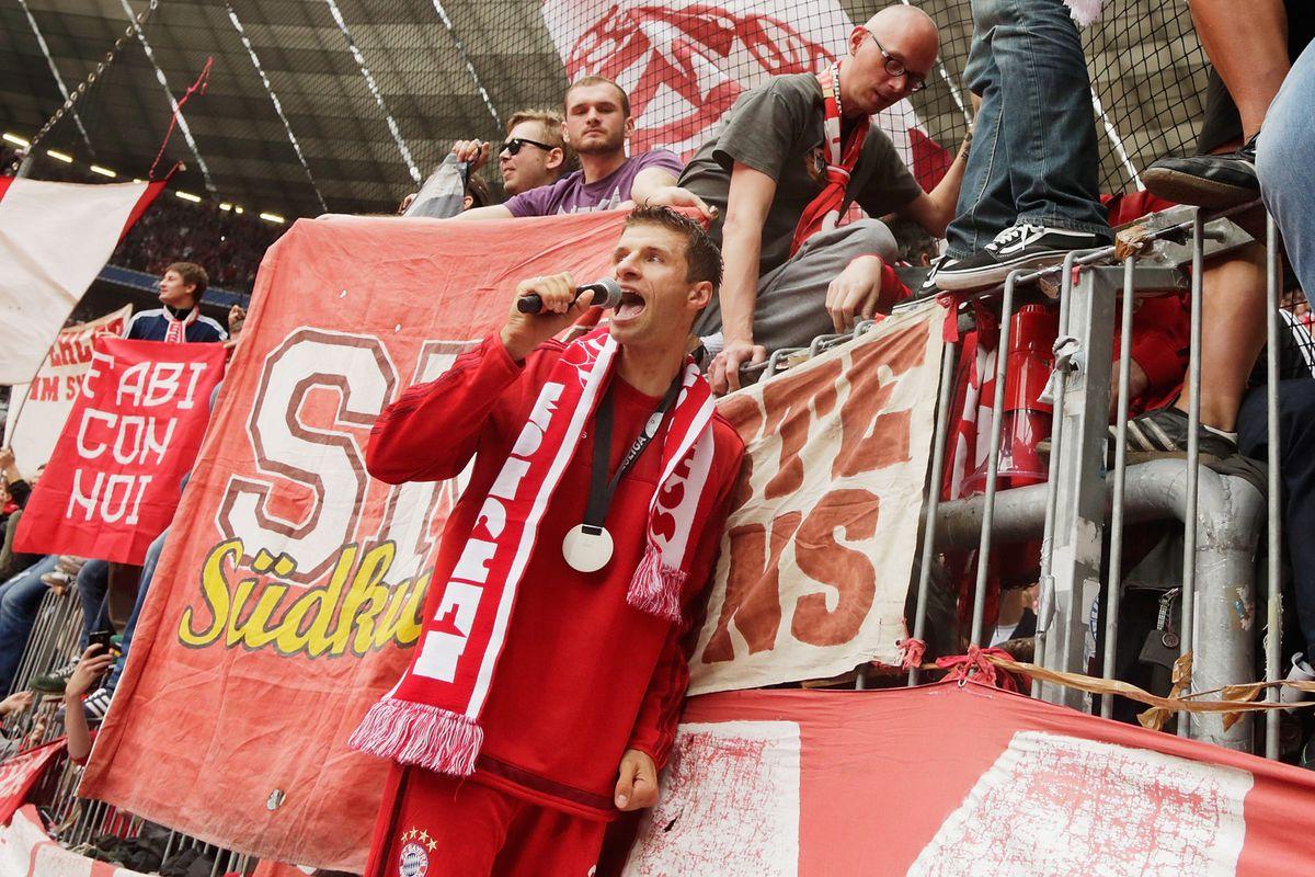 FC Bayern Muenchen v 1. FSV Mainz 05 - Bundesliga for DFL