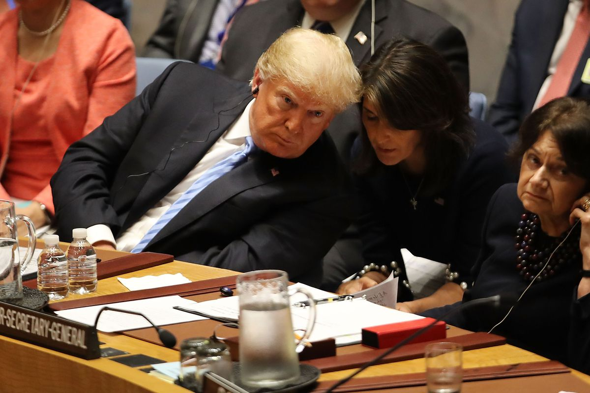 President Donald Trump Chairs UN Security Council Meeting On Iran