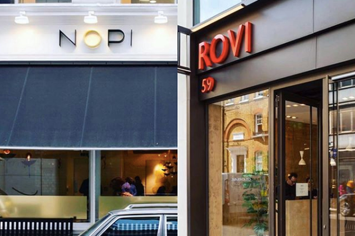 Ottolenghi's two main restaurants have closed in the wake of the coronavirus outbreak