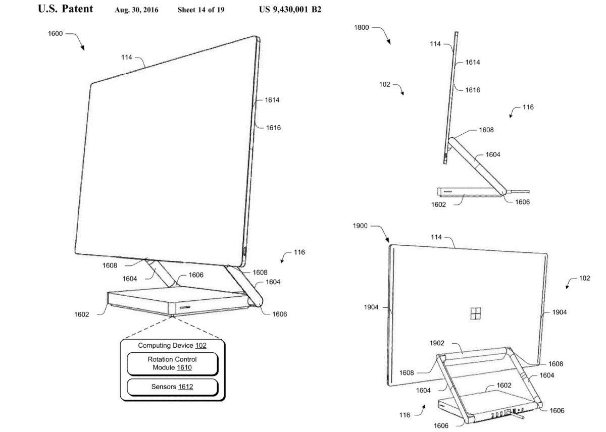 Surface PC patent