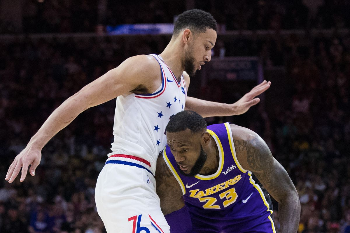 d085617fe120 Lakers  LeBron James for Ben Simmons trade rumor doesn t hold up ...