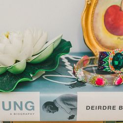 'Good Energy' cuff $285; 'Now 'N Then' bangle, $185