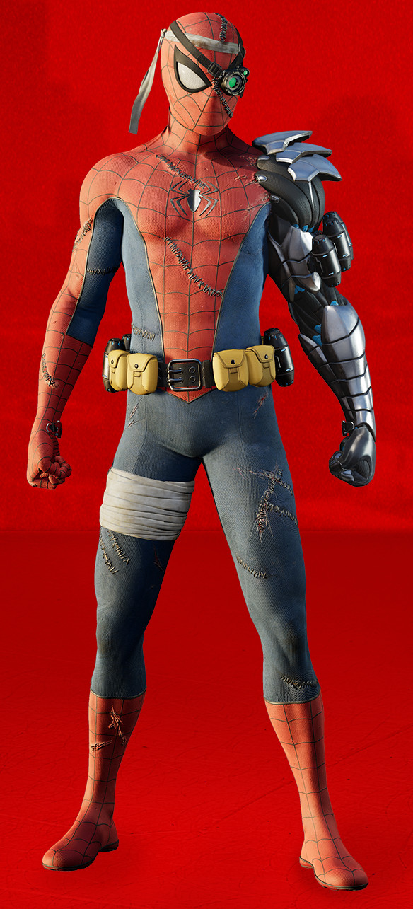 Spider Man Ps4 Suits Every Costume Amp Comic Book
