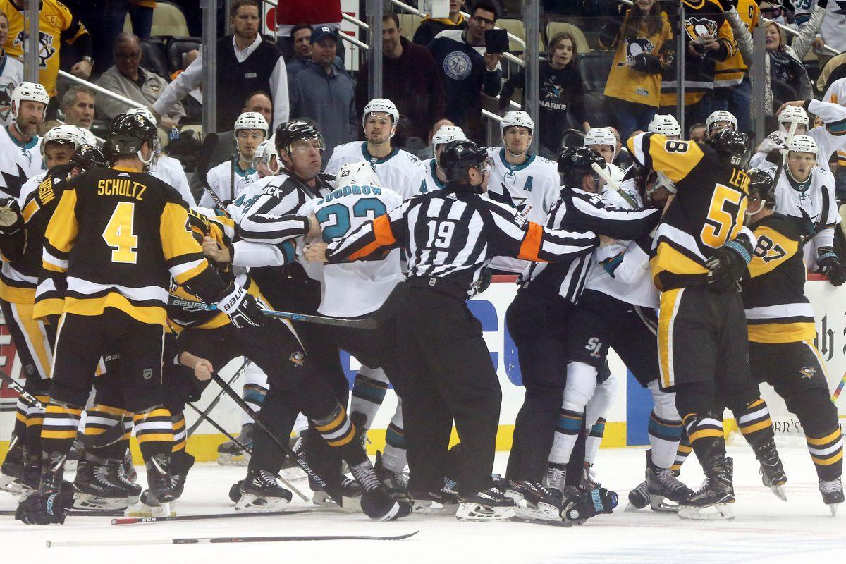 NHL: San Jose Sharks at Pittsburgh Penguins