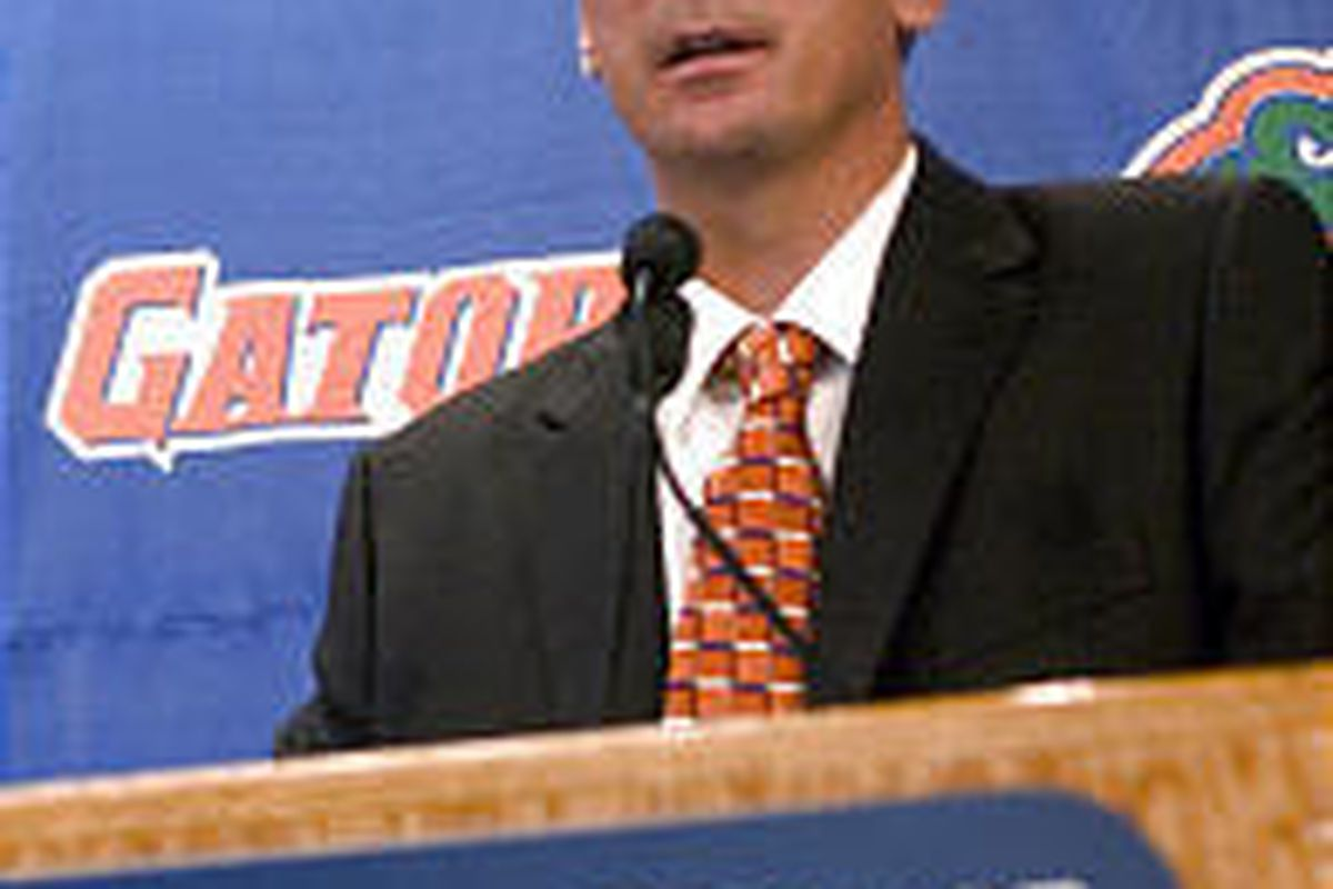 Florida football coach Urban Meyer has persuaded his players to buy into his spread-option offense.