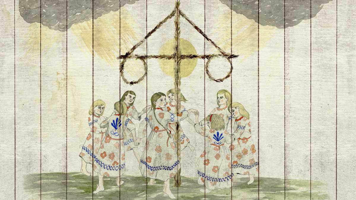 One of the many paintings featured in Midsommar.