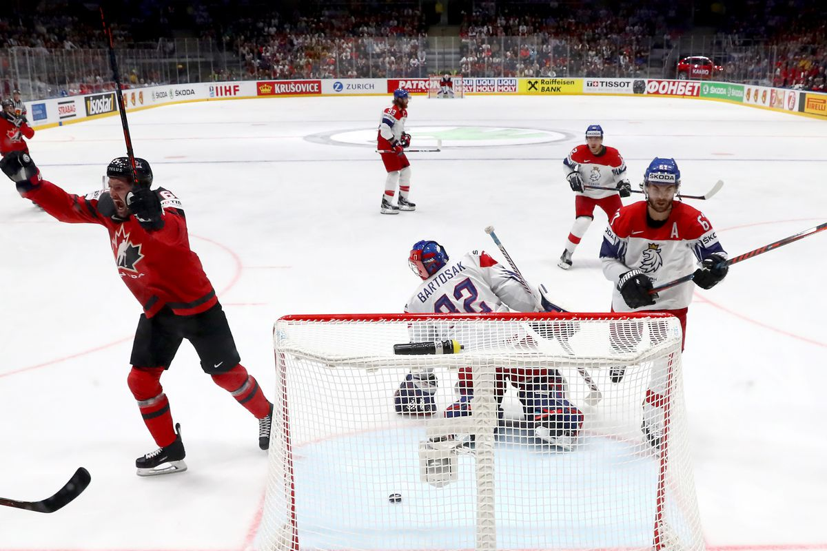 2019 World Hockey Championships Finals Canada Vs Czech Finland