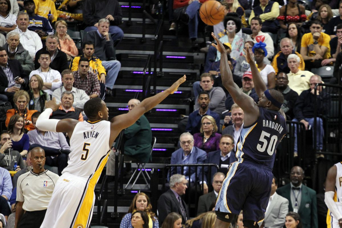 Z-Bo will have to find a way to take advantage of undersized bigs tonight in Indiana.