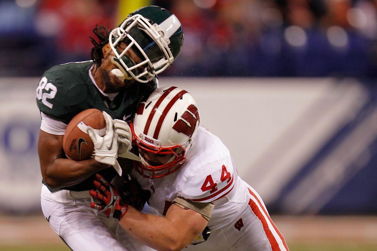 Big 10 Championship Game - Wisconsin v Michigan State