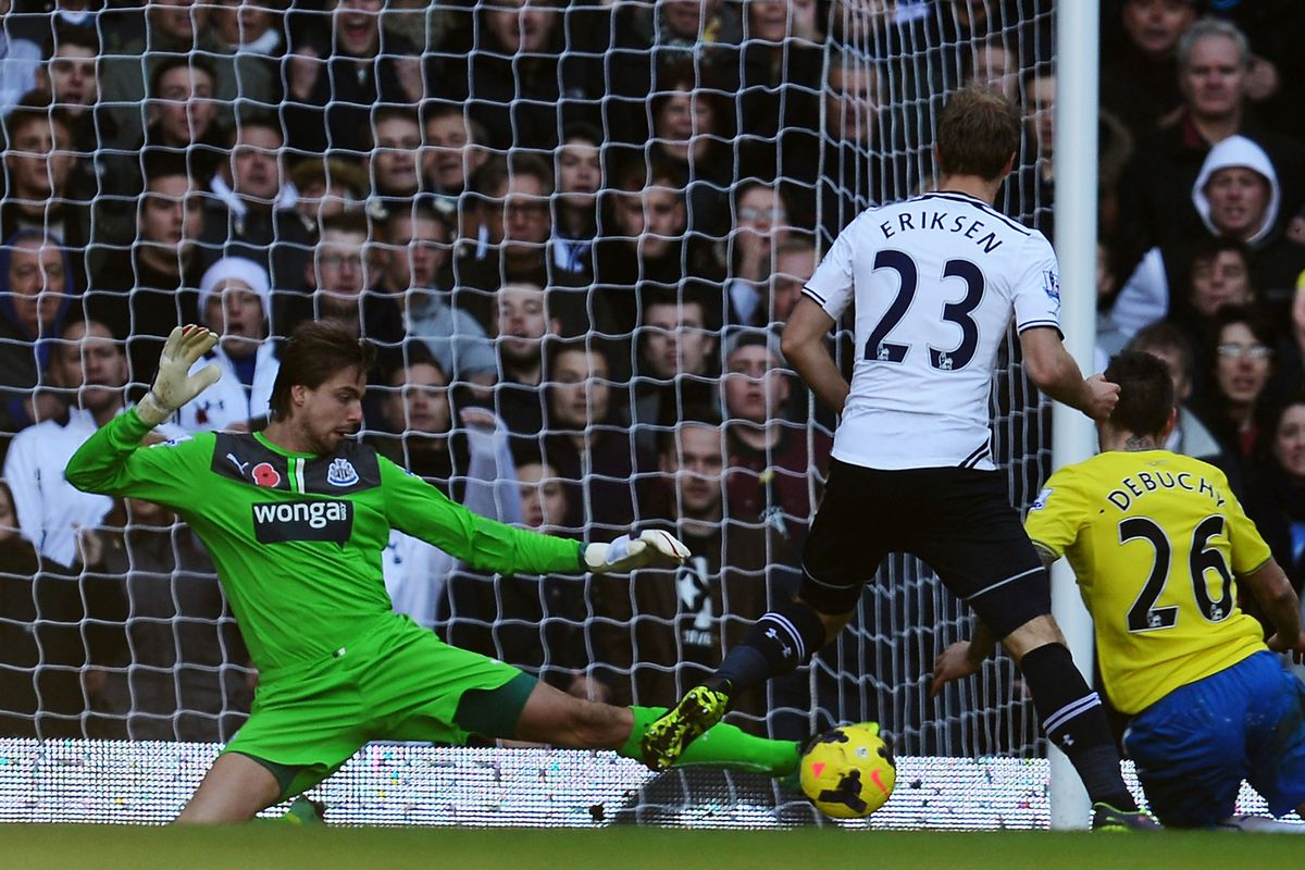 Tim Krul might just have had the performance of his career to date