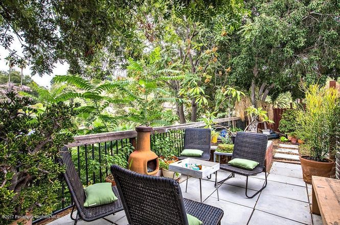 Patio with deck furniture