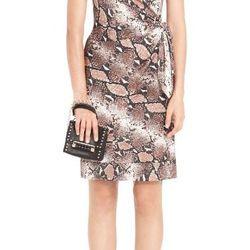 """Diane von Furstenberg New Della silk jersey shift dress, <a href=""""http://www.dvf.com/new-della-silk-jersey-shift-dress/D5265001R13.html"""">$345</a>, Diane von Furstenberg at the Grand Canal Shoppes"""