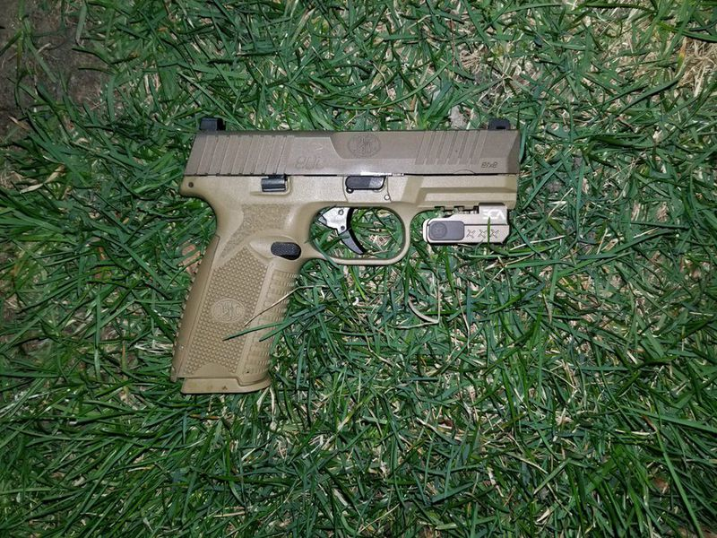 Police shared a photo of a gun allegedly belonging to a man fatally shot by police March 31, 2021, in Portage Park.