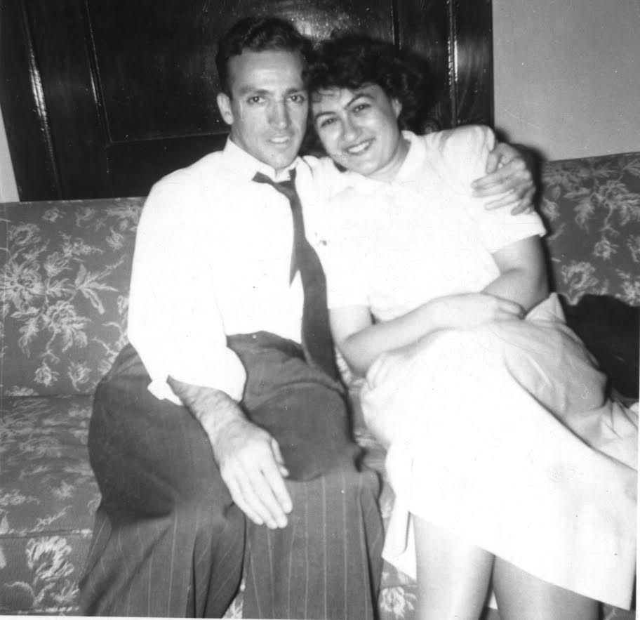 Myron Rush and his wife Theresa were married for 61 years.   Provided photo