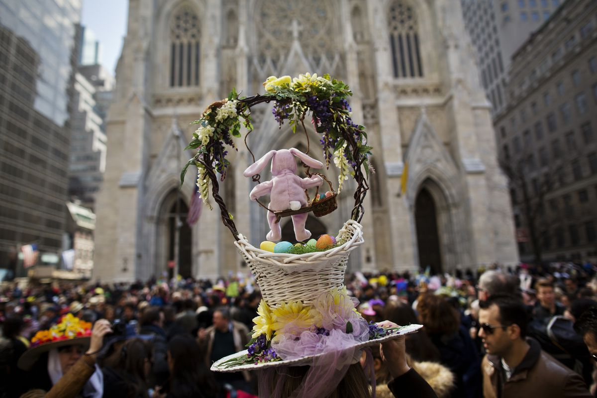 Annual Easter Parade Held On Manhattan's 5th Avenue