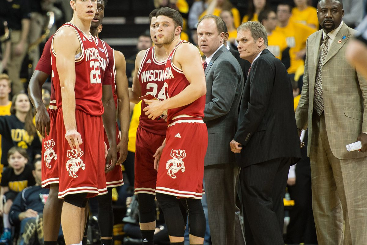 Gary Close (second from right) will not return to UW after 13 seasons with the program.