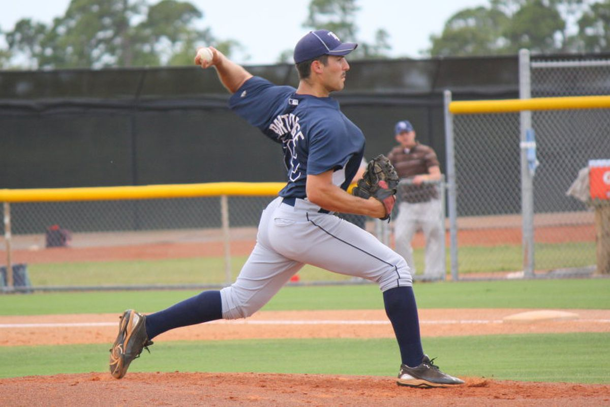 """Jake Partridge has been excelling in a relief role for Bowling Green, credit <a href=""""http://i.pbase.com/g4/23/755623/2/135160760.nWhfR60b.jpg"""">Jim Donten</a>"""