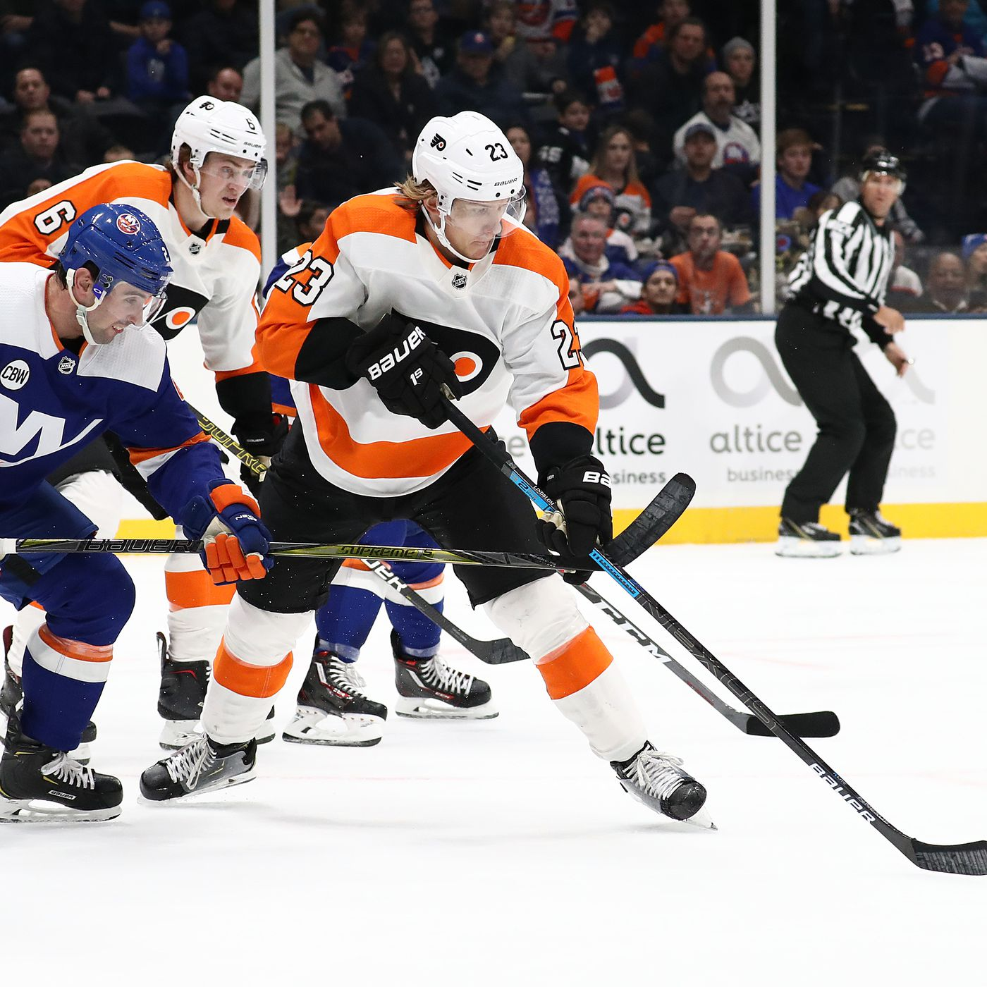 Philadelphia Flyers At New York Islanders Game 68 Lighthouse Hockey
