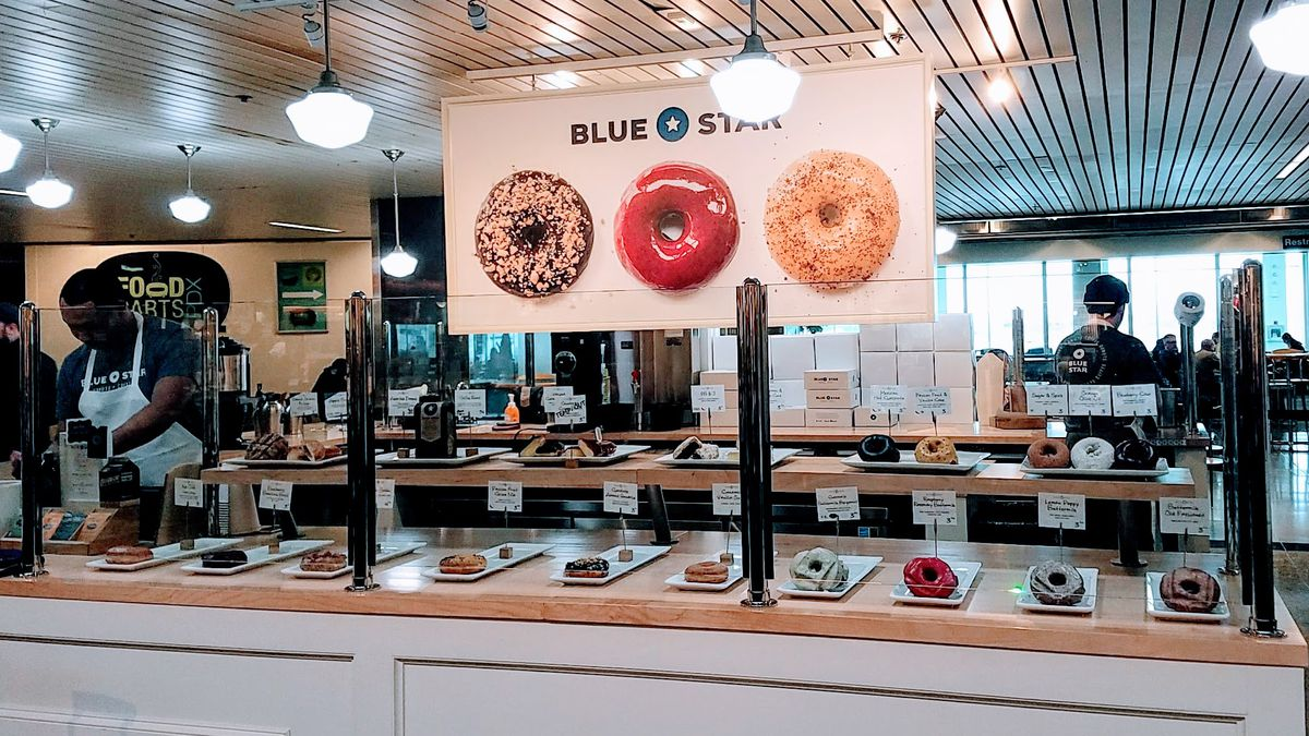 Blue Star Donuts At Pdx Airport Pechluck Laskey